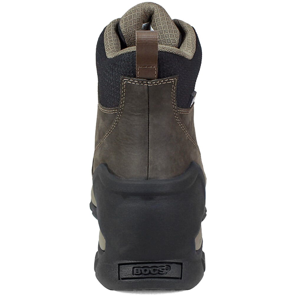 Bogs Men's Foundation Mid WP Work Boots - Brown