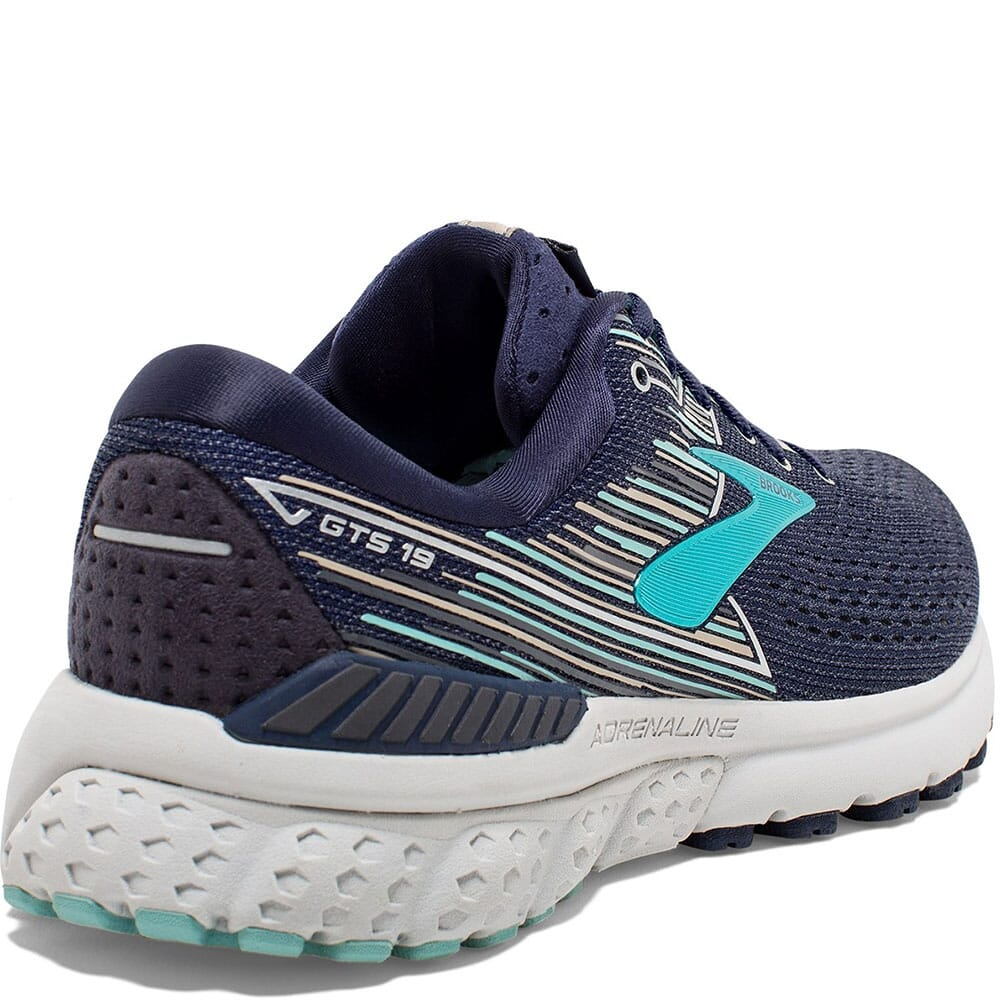 Brooks Women's Adrenaline GTS 19 Athletic Shoes - Navy
