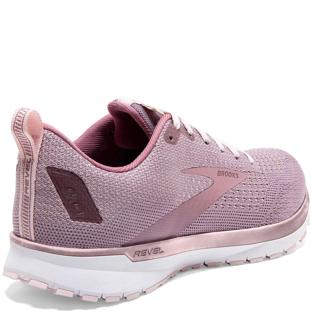 120337-286 Brooks Women's Revel 4 Running Shoes - Almond/Primrose