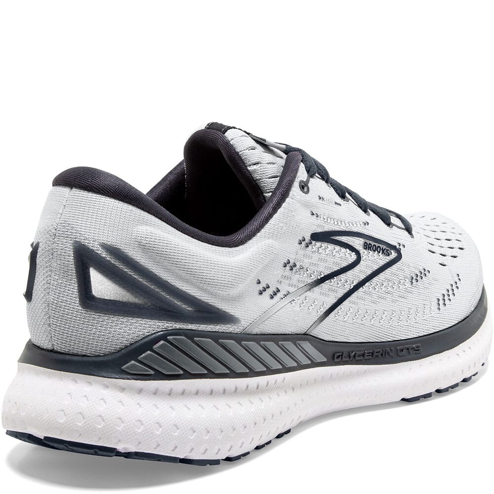 120344-085 Brooks Women's Glycerin 19 GTS Athletic Shoes - Grey/Black