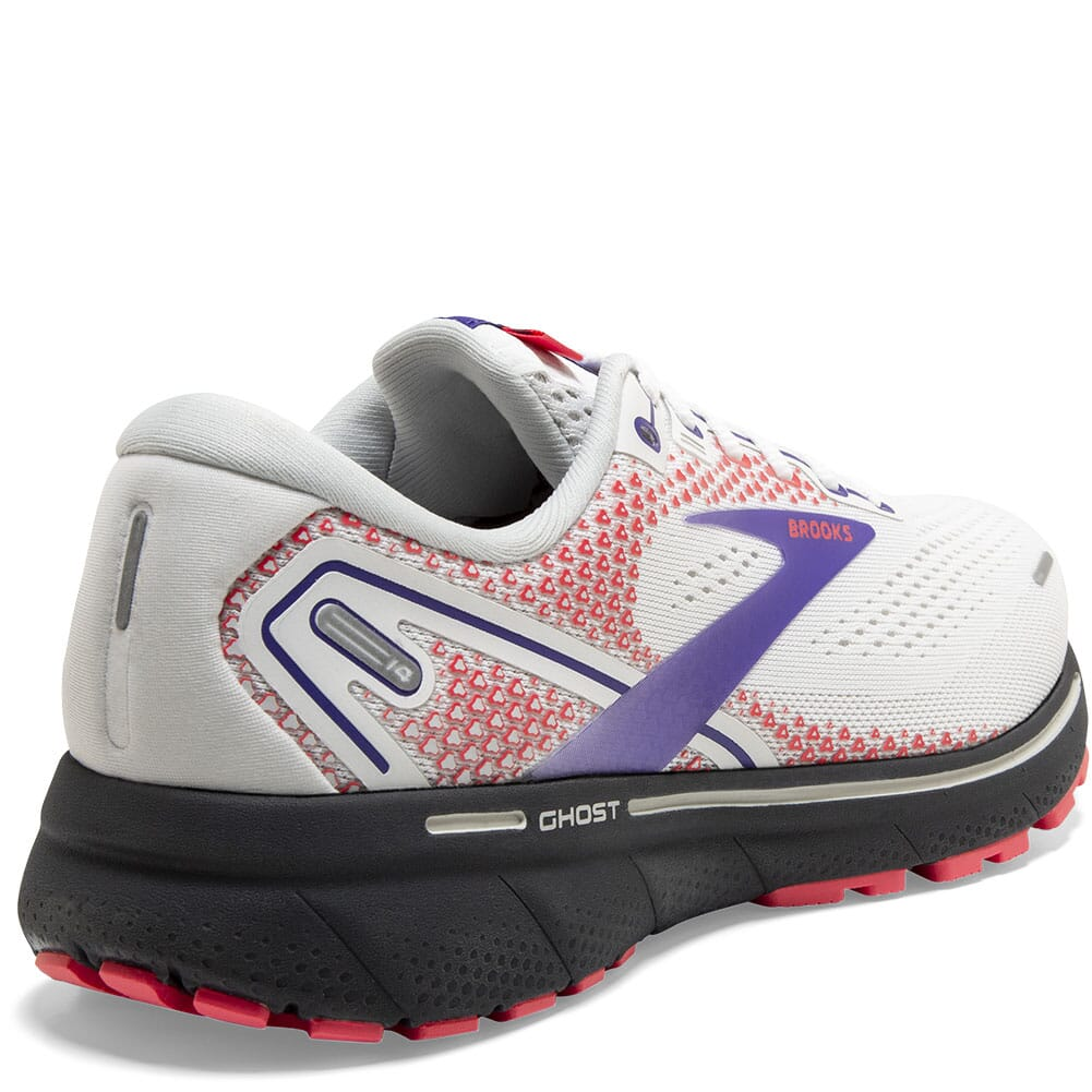 120356-192 Brooks Women's Ghost 14 Athletic Shoes - White/Purple