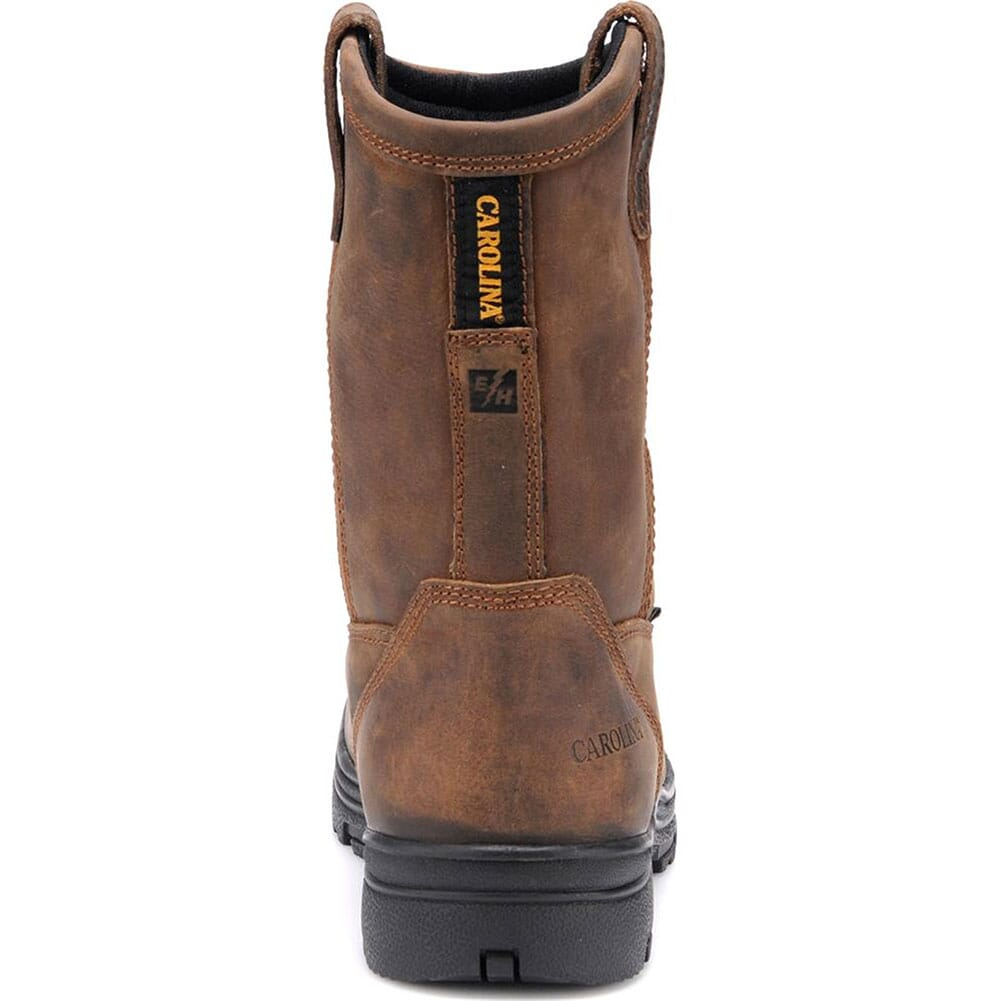 Carolina Men's WP Comp Toe Safety Boots - Dark Brown