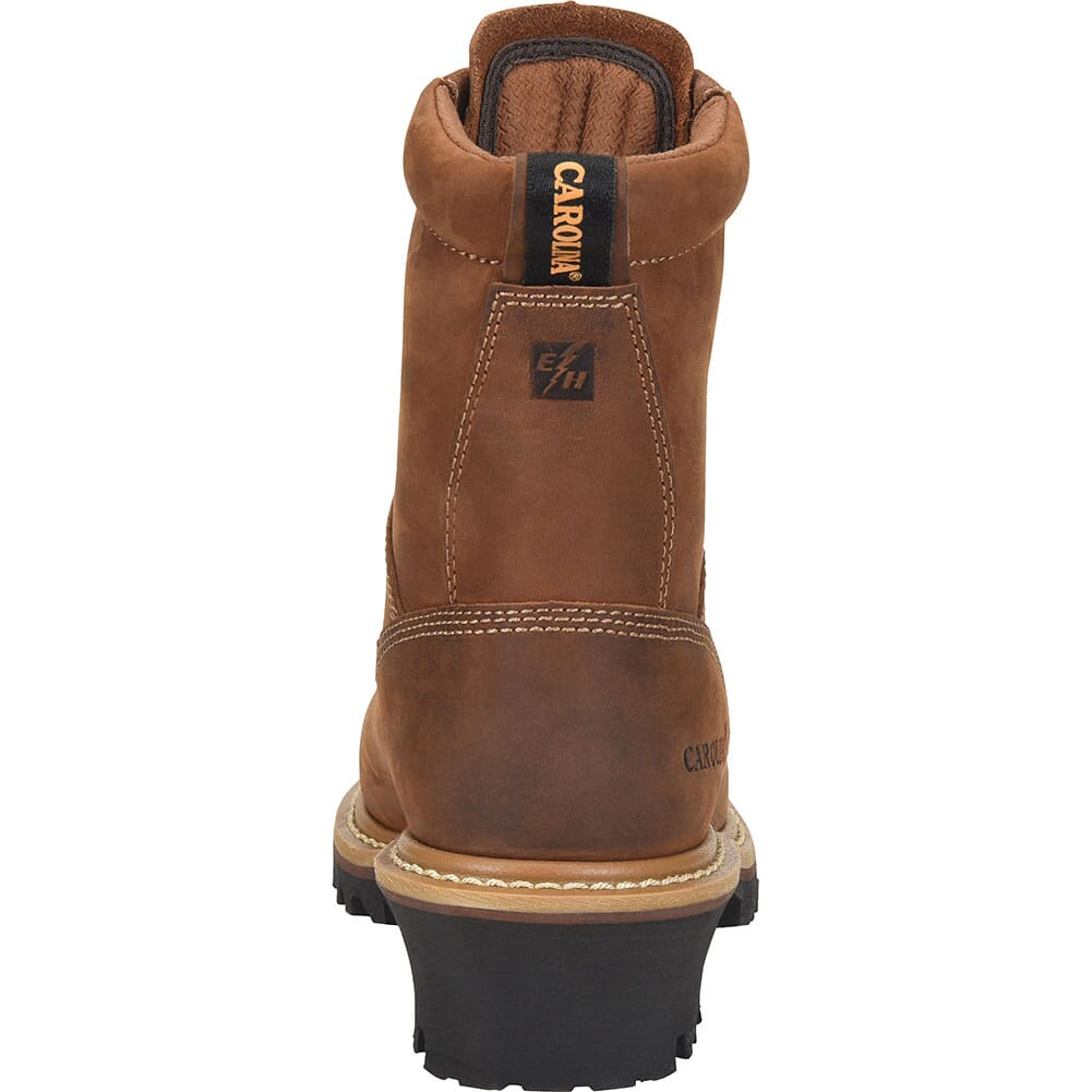 Carolina Women's Elm WP Work Loggers - Brown