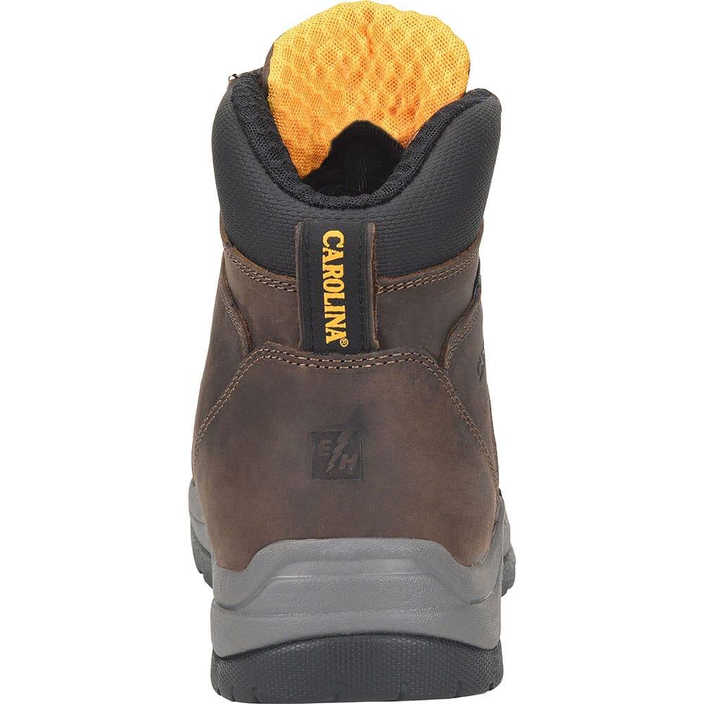 Carolina Men's Lace-to-Toe WP Work Boots - Dark Beige
