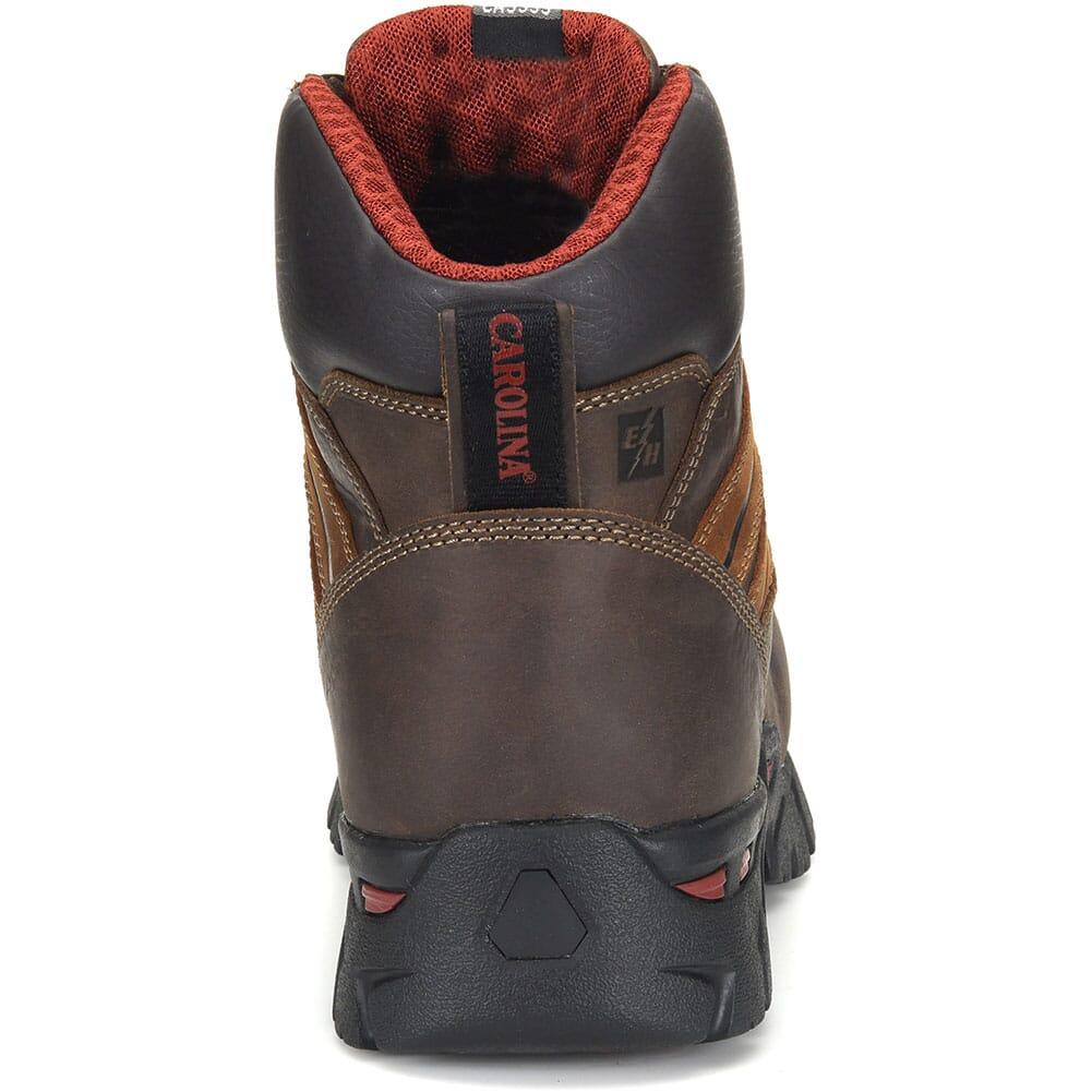 Carolina Men's Coiler Lo Safety Boots - Brown