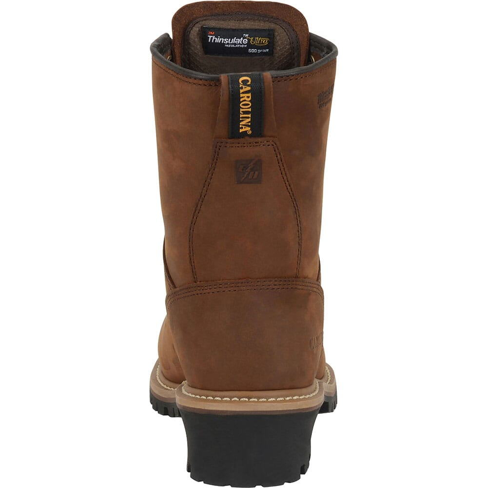 Carolina Men's WP INS Safety Loggers - Copper