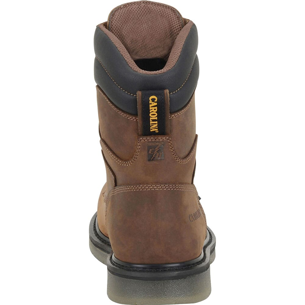 Carolina Men's Supertrek Hi WP Safety Boots - Brown