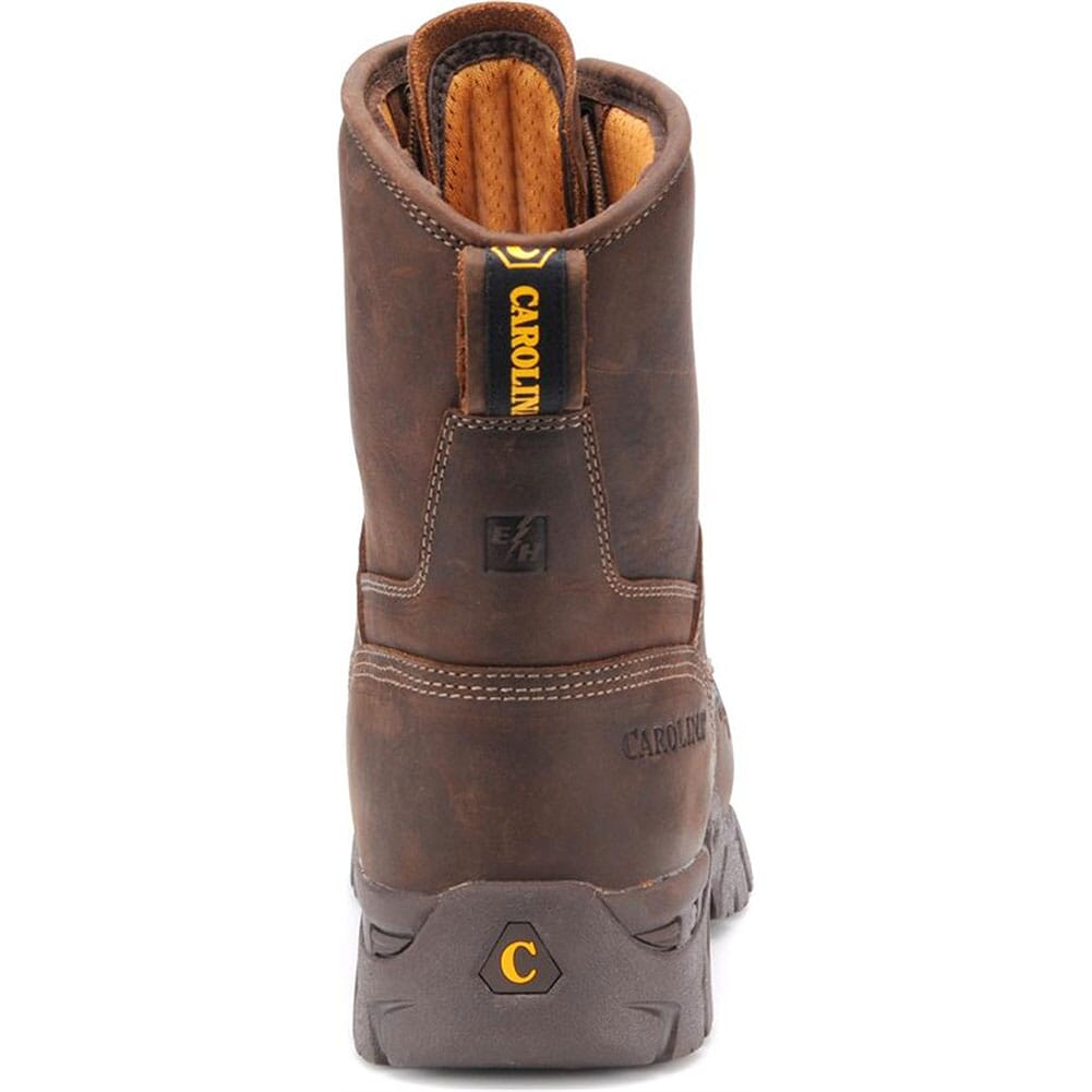 Carolina Men's EH Internal Met Safety Boots - Brown
