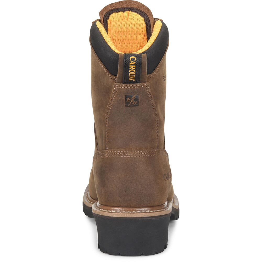 Carolina Men's Poplar WP Safety Loggers - Brown