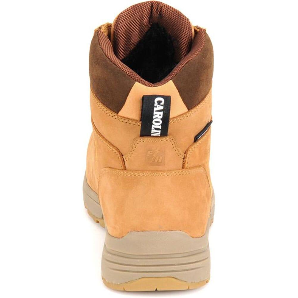 Carolina Men's WP Safety Boots - Wheat