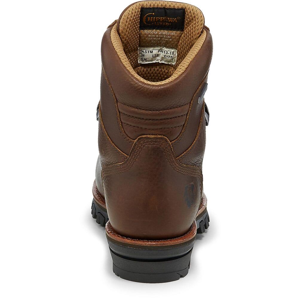 Chippewa Men's Honcho WP Safety Boots - Brown