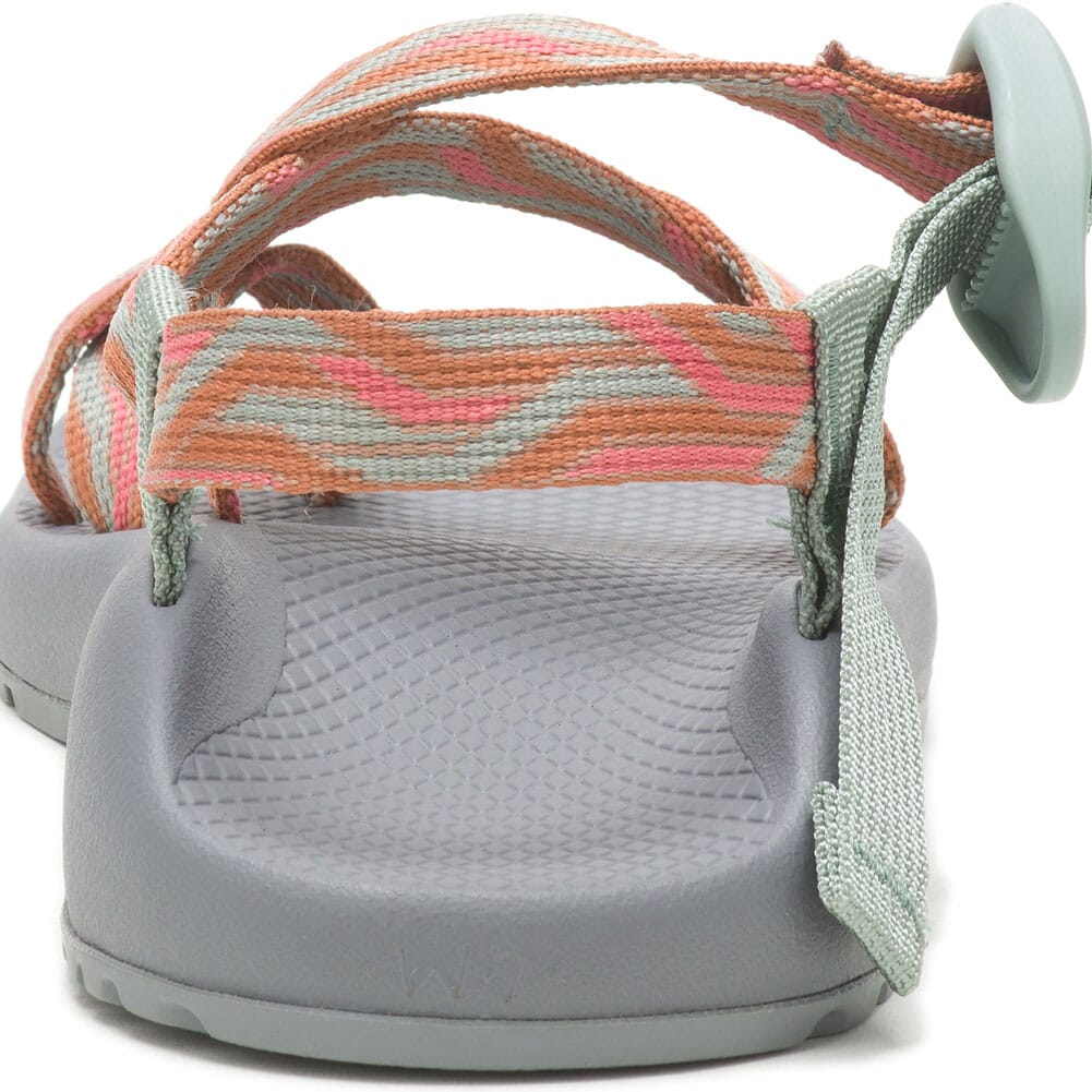 JCH108696 Chaco Women's Z/2 Classic Sandals - Going On Aqua Gray