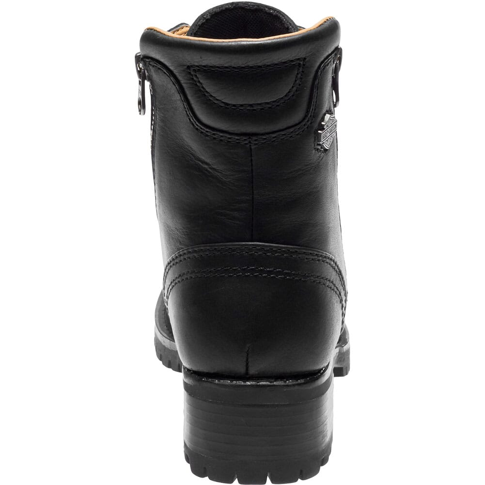 Harley Davidson Women's Asher Motorcycle Boots - Black
