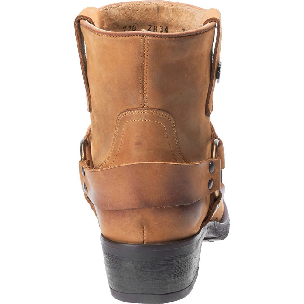 Harley Davidson Women's Abbington Harness Motorcycle Boots - Tan