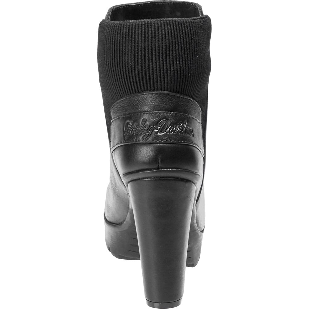 Harley Davidson Women's Iredell Motorcycle Boots - Black