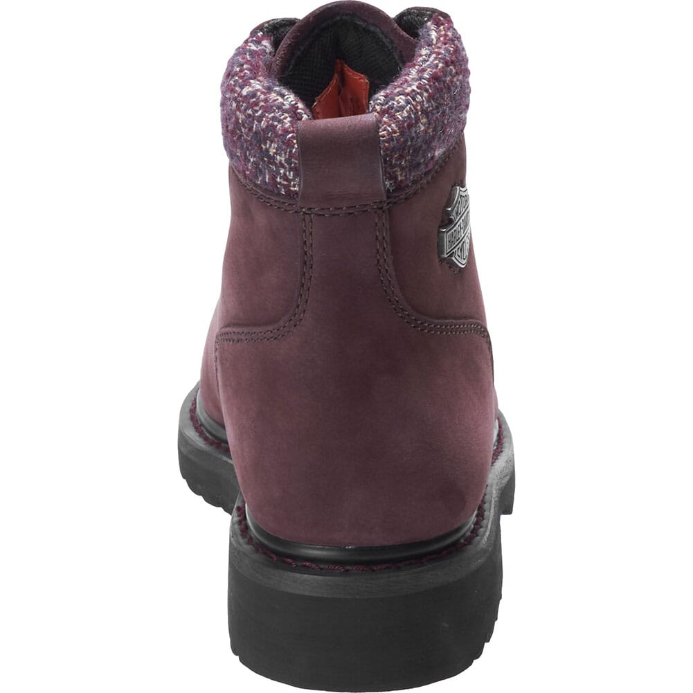 Harley Davidson Women's Akers Motorcycle Boots - Wine