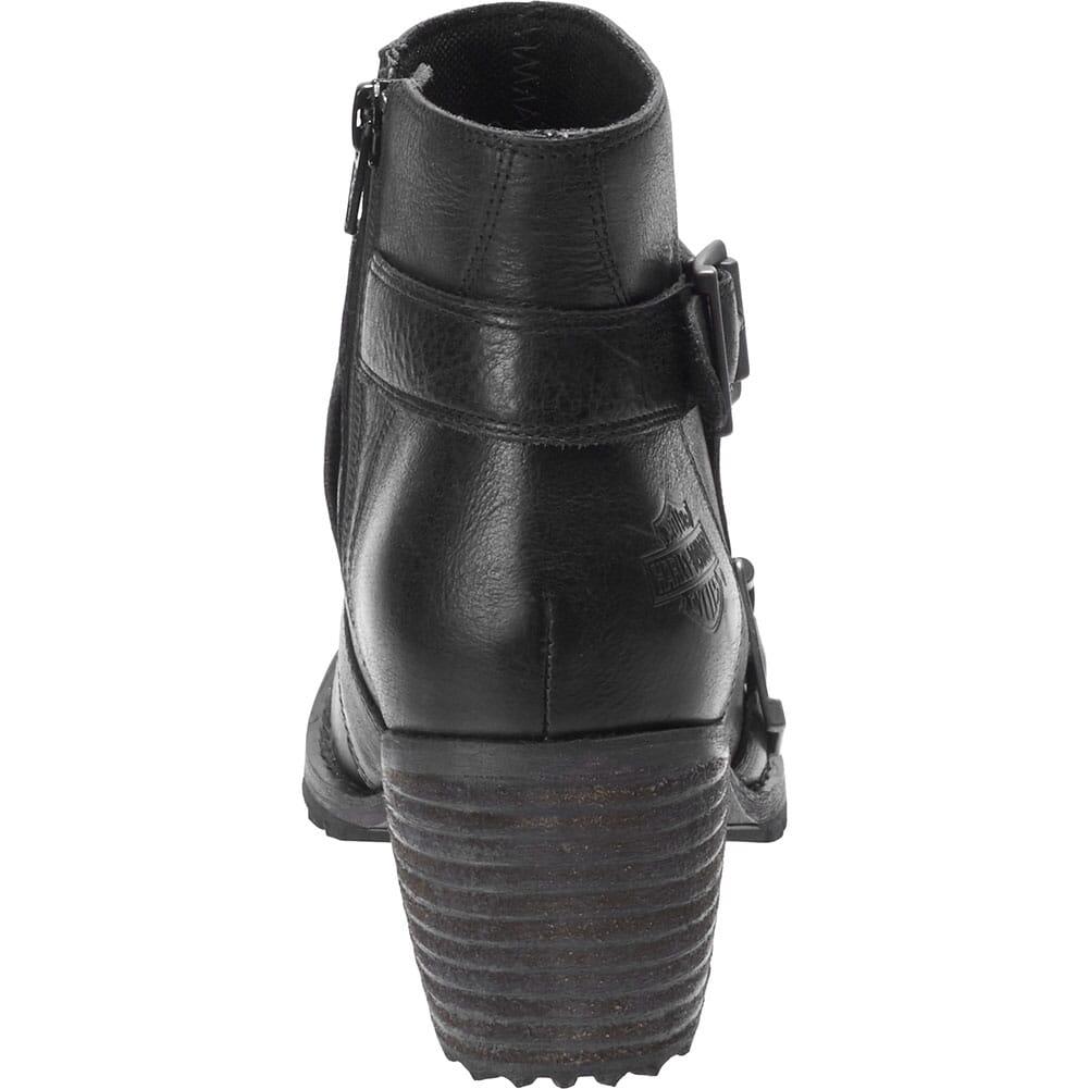 Harley Davidson Women's Caffery Motorcycle Boots - Black