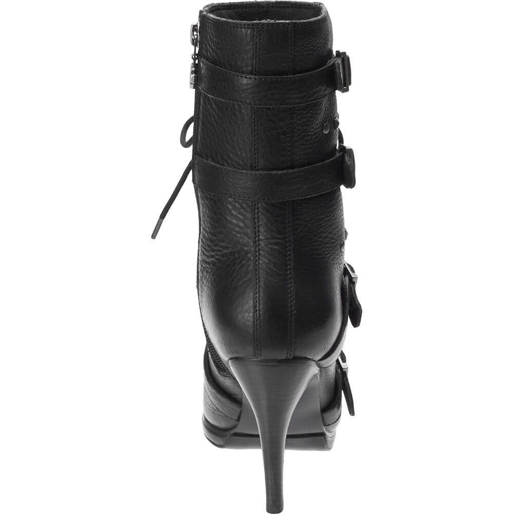 Harley Davidson Women's Chesterton Motorcycle Boots - Black