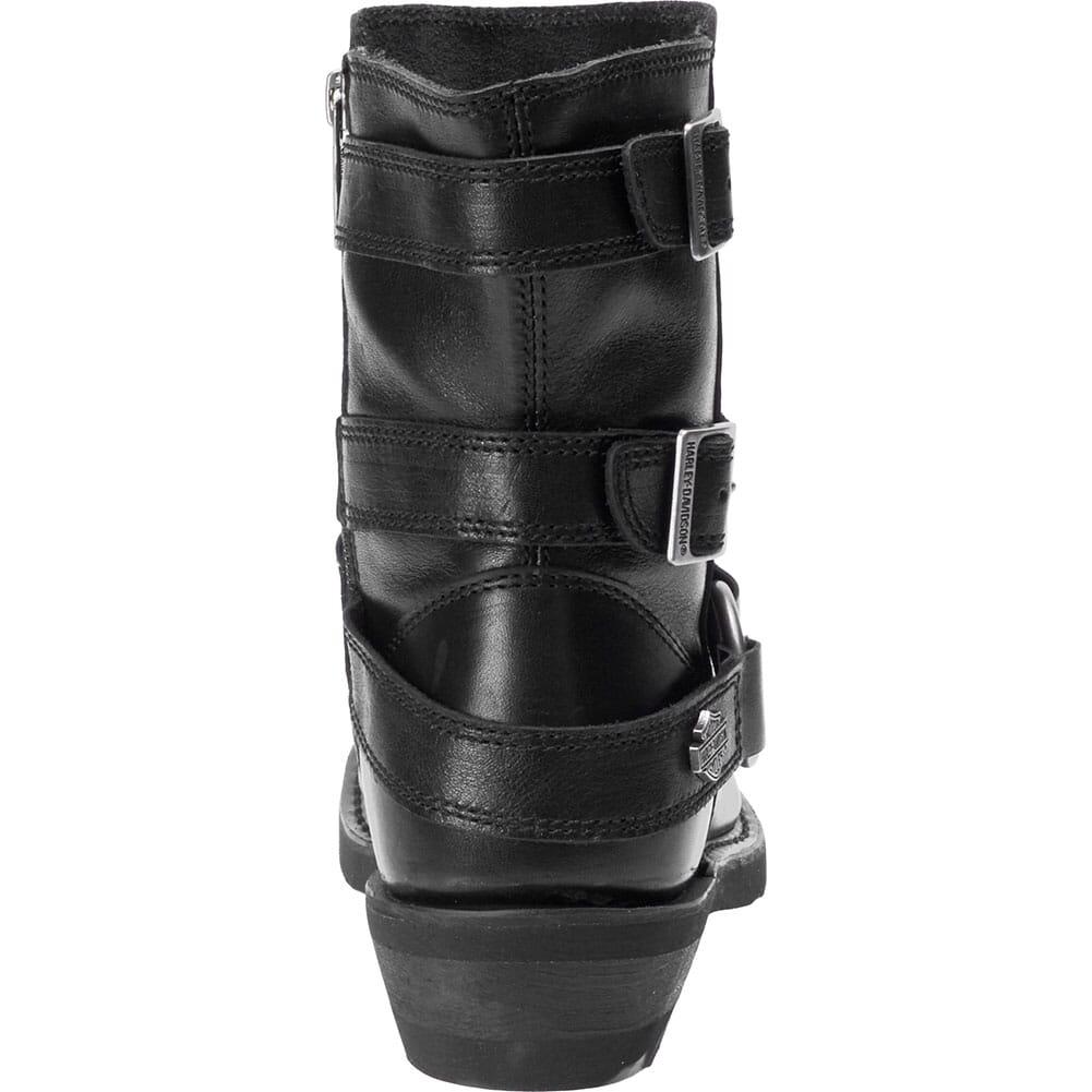 Harley Davidson Women's Janice Motorcycle Boots - Black