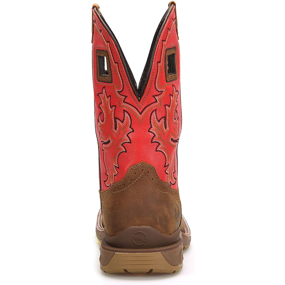 DH5358 Double H Men's Henly Safety Ropers - Goji Berry/ Real Brown