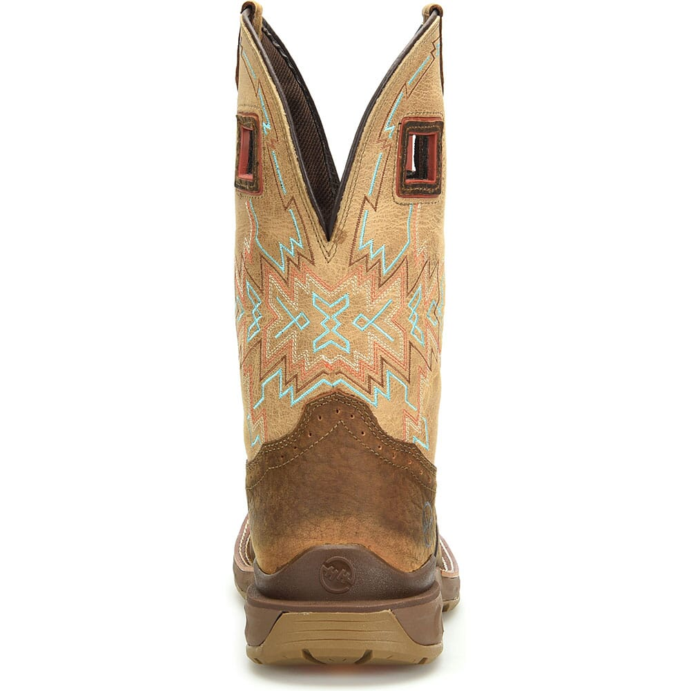 DH5361 Double H Men's Clem Work Ropers - Revel Oatmeal/Buffalo