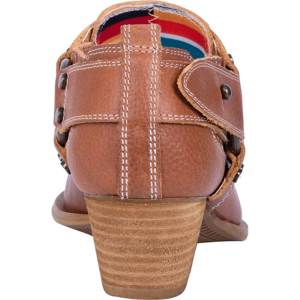 Dingo Women's Kickback Casual Boots - Cognac