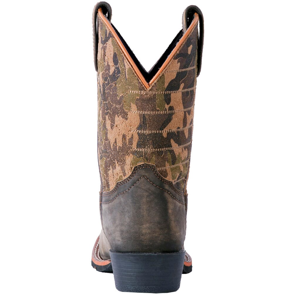 Dan Post Youth Foxtrot Western Boots - Camo/Dark Brown