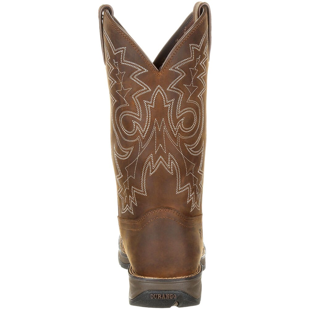 Durango Men's WP Western Safety Boots - Coyote Brown