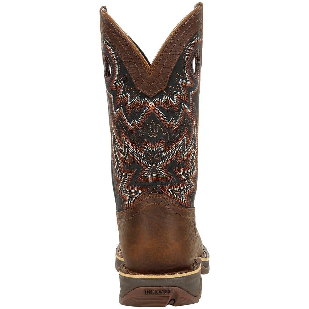 DDB0270 Durango Men's Rebel Western Boots - Chocolate/Black Eclipse