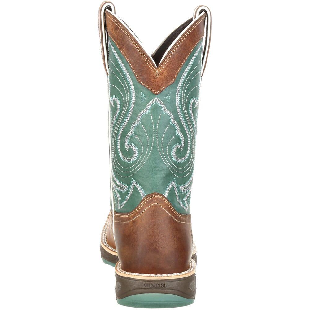 DRD0224 Durango Women's Ultra-Lite Western Boots - Tan/Emerald