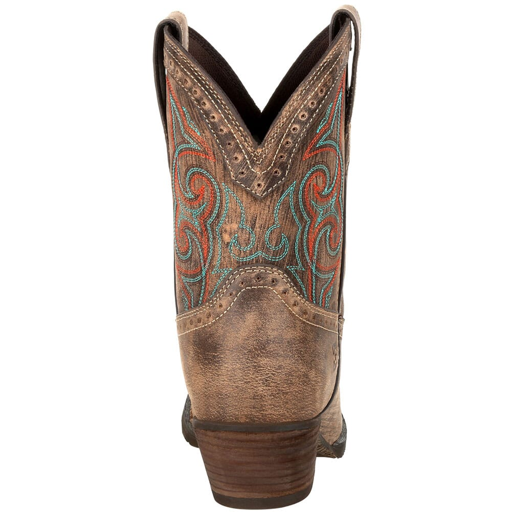 DRD0358 Durango Women's Crush Shortie Western Boots - Driftwood Sunset