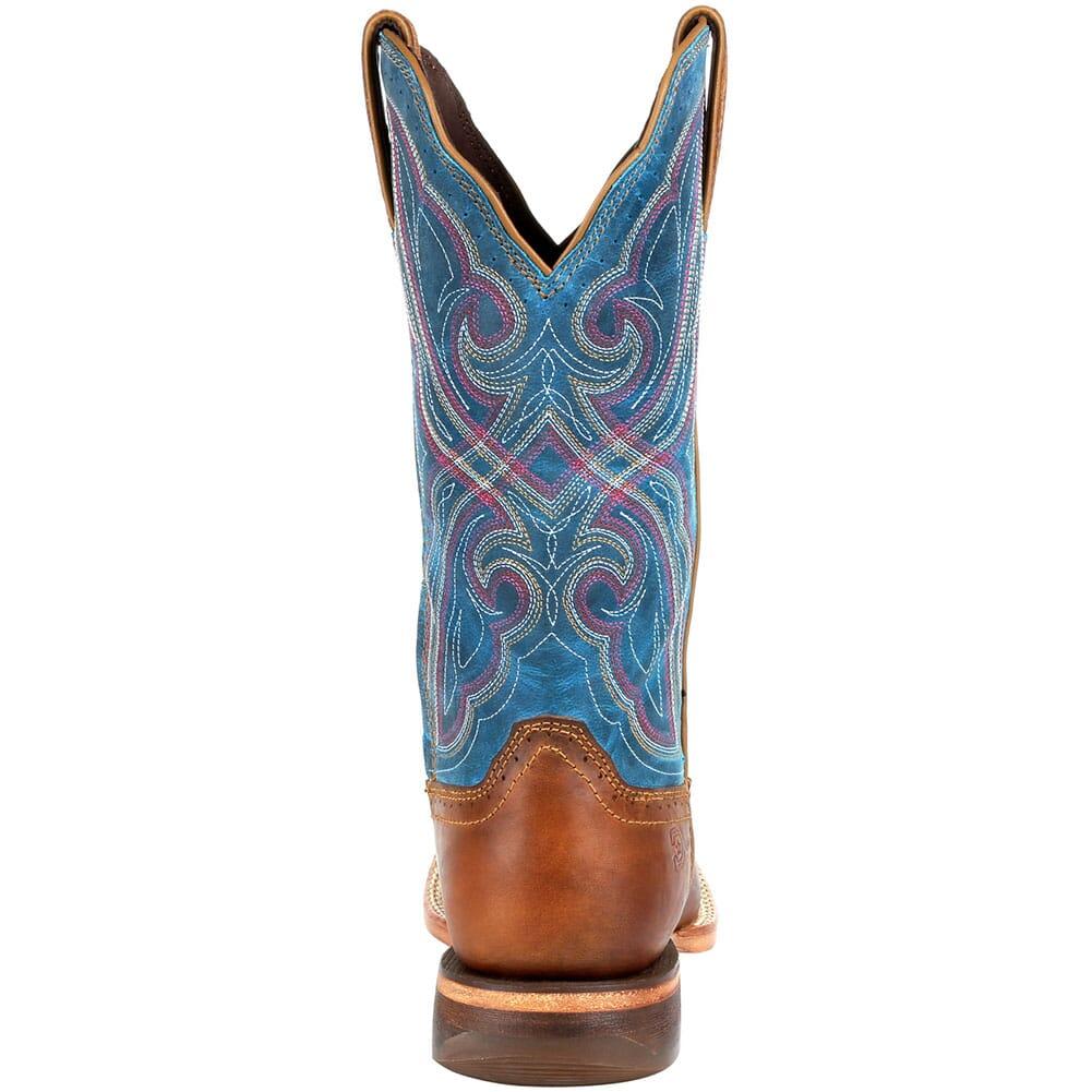 DRD0381 Durango Women's Arena Pro Western Boots - Dark Bay/Caribbean Blue