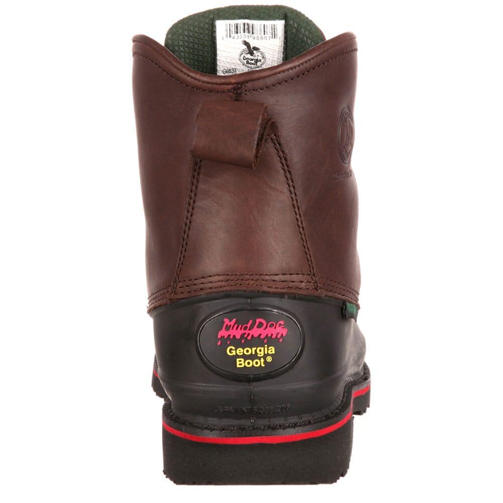 Georgia Men's Mud Dog Safety Boots - Chocolate