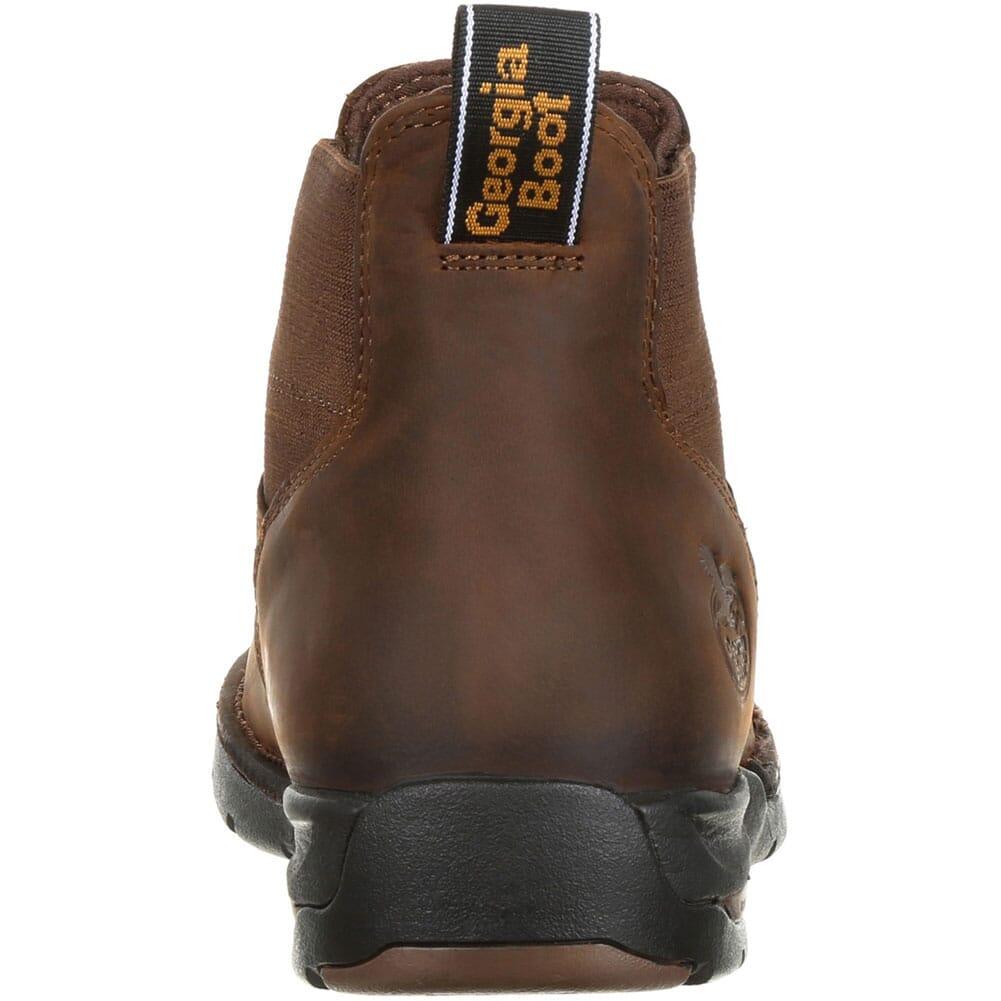Georgia Men's Athens Chelsea WP Work Boots - Dark Brown