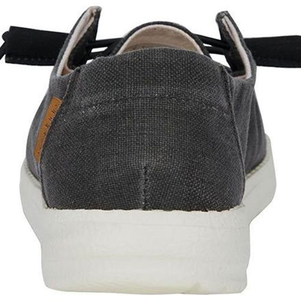 121414949 Hey Dude Women's Wendy Chambray Casual Shoes - Off Black
