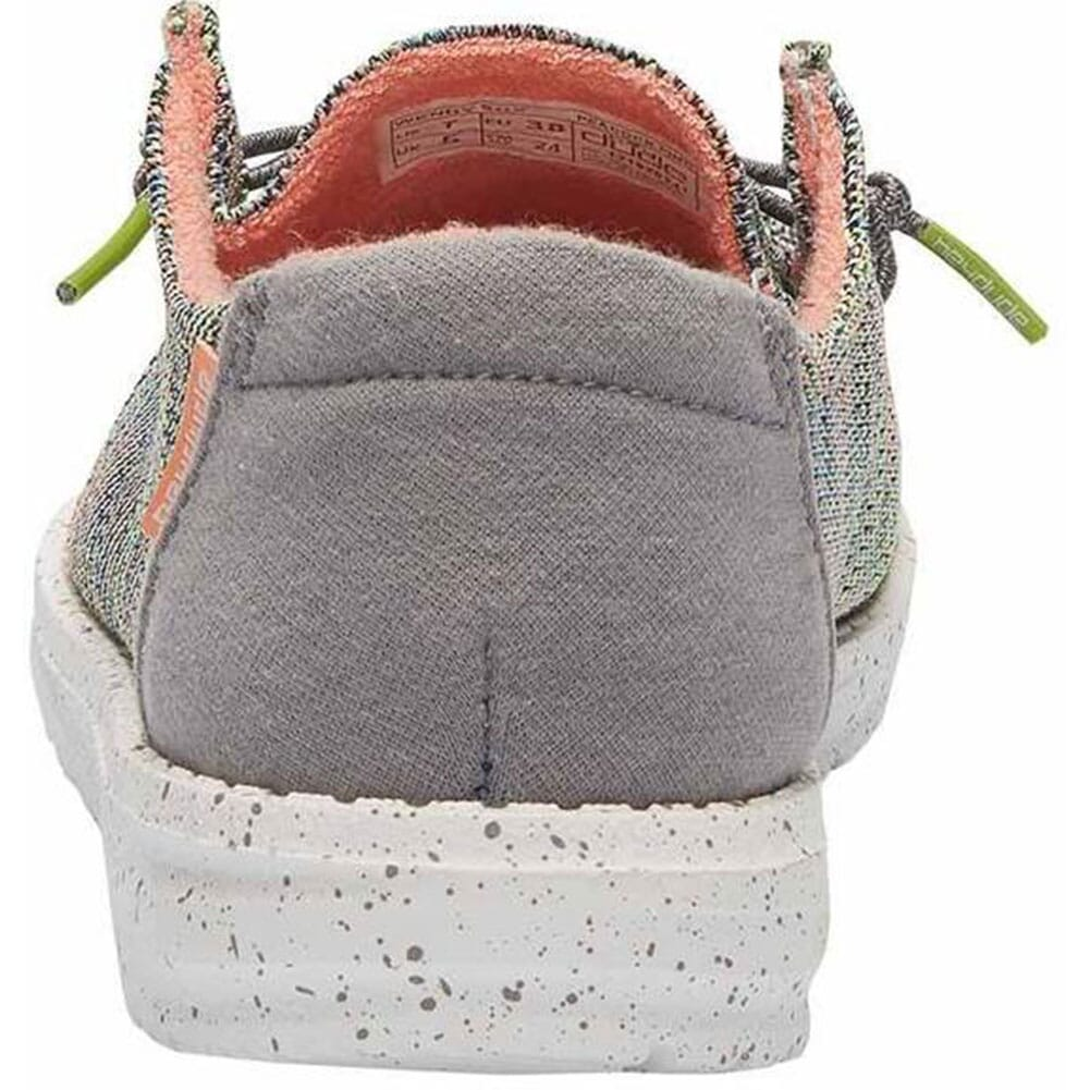 121928341 Hey Dude Women's Wendy Sox Casual Shoes - Peacock Pink