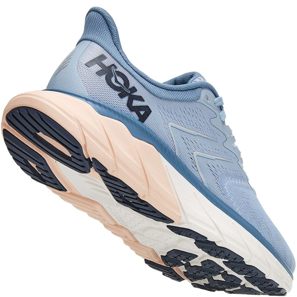 1115013-BFPB Hoka One One Women's Arahi 5 Wide Running Shoes - Blue Fog