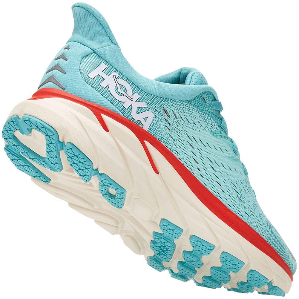 1119394-AEBL Hoka One One Women's Clifton 8 Athletic Shoes - Aquarelle