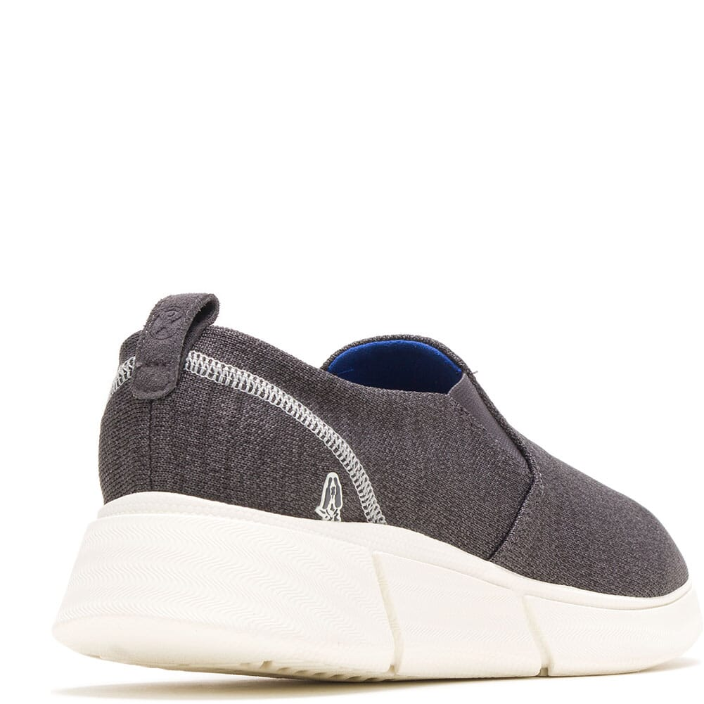 Hush Puppies Men's Cooper Lace Up Casual Slip On - Grey Heathered