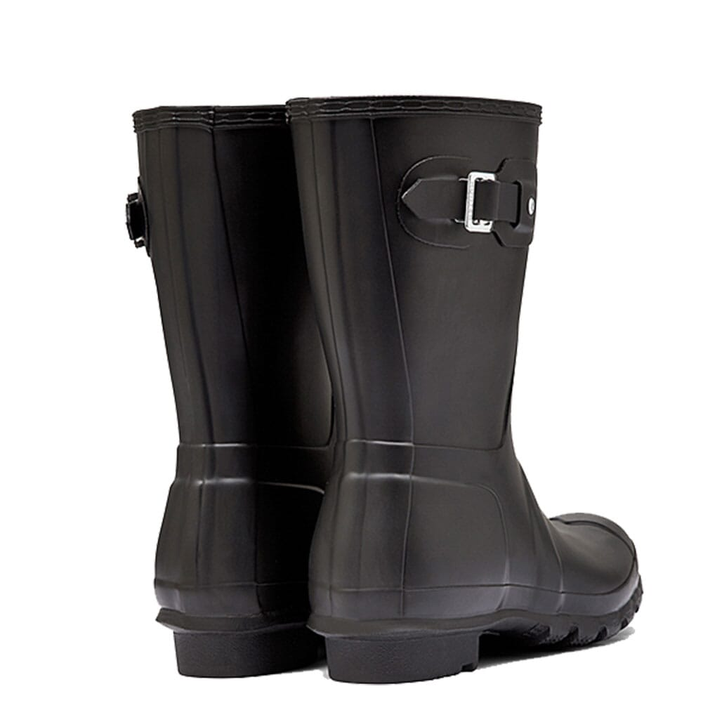 Hunter Women's Short Rain Boots - Black