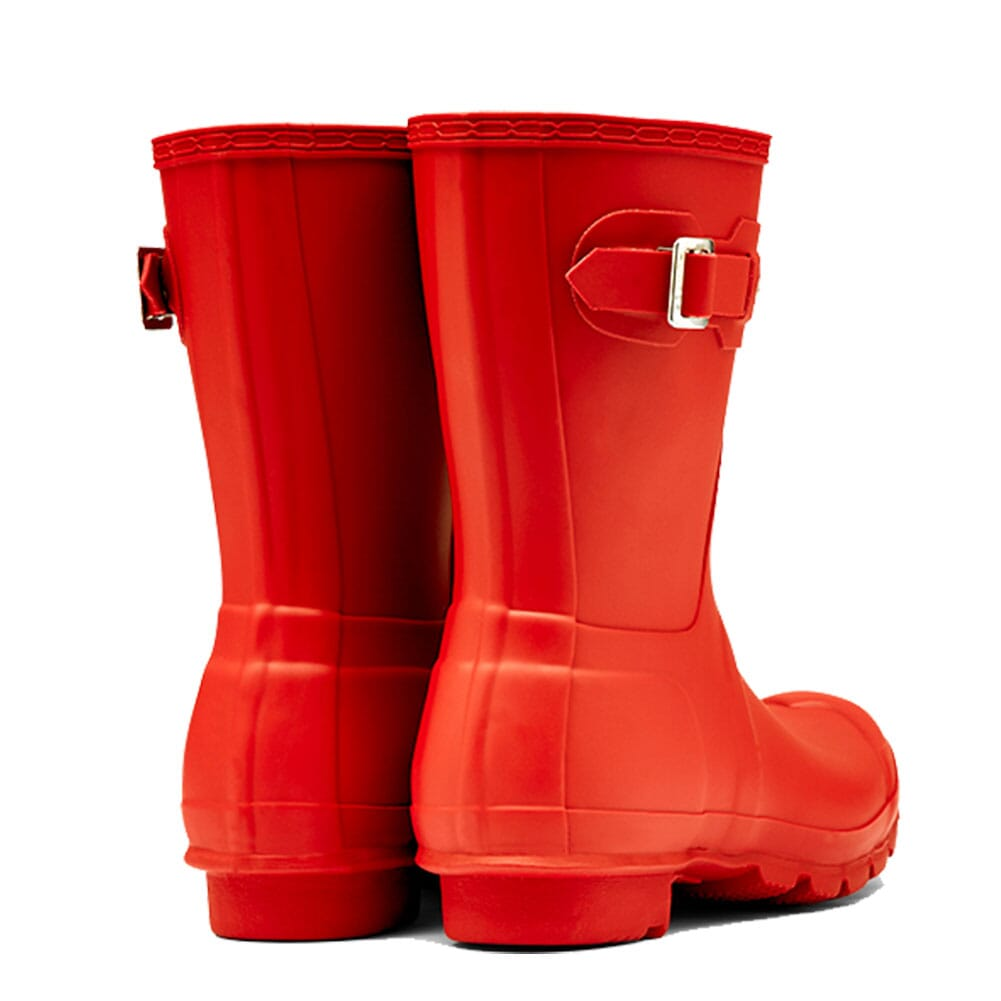 Hunter Women's Short Rain Boots - Red