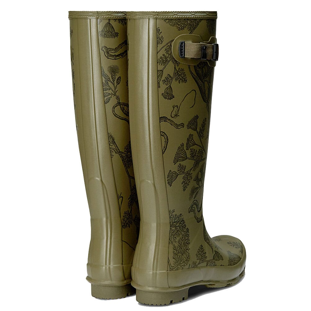 Hunter Women's Norris Field Rain Boots - Moor Green