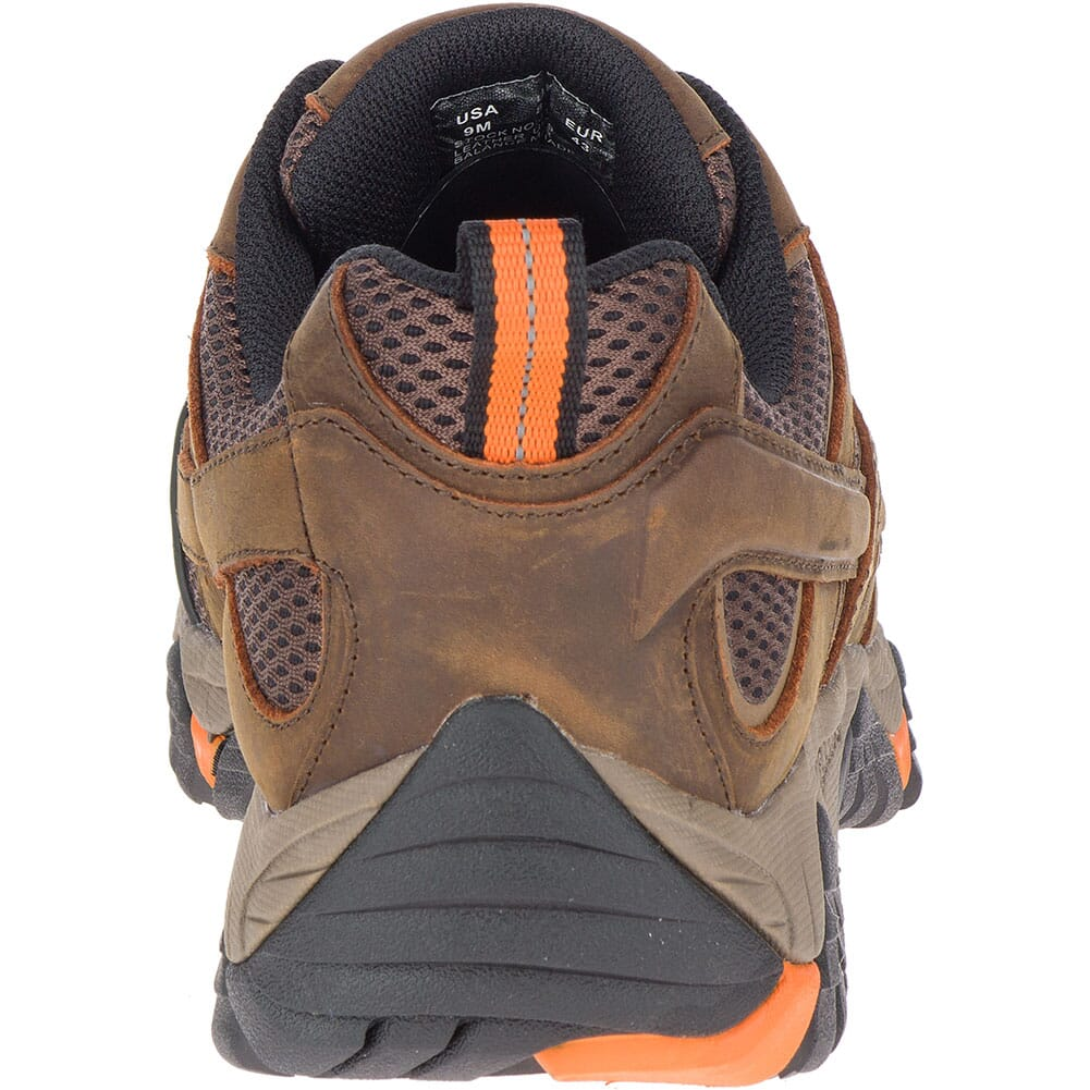 Merrell Men's Moab Vertex Vent Wide Safety Shoes - Clay
