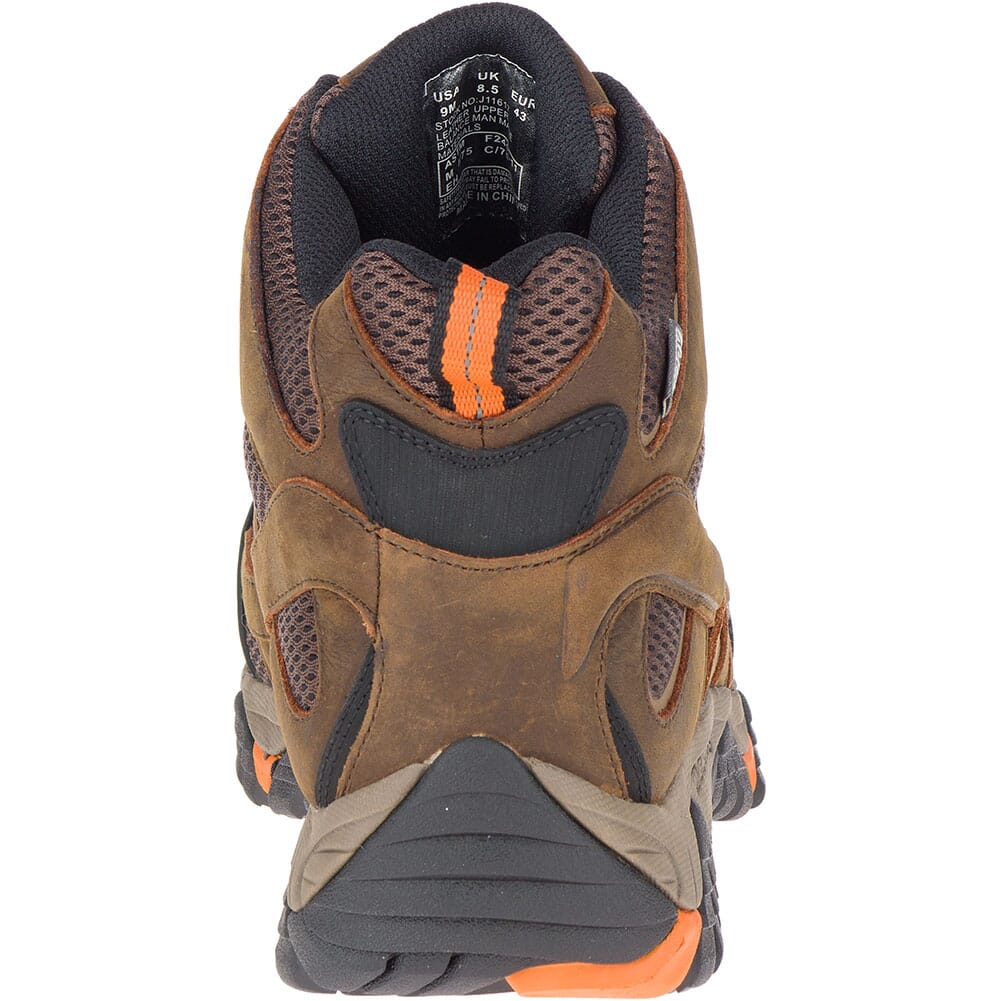 Merrell Men's Moab Vertex Vent Safety Boots - Clay