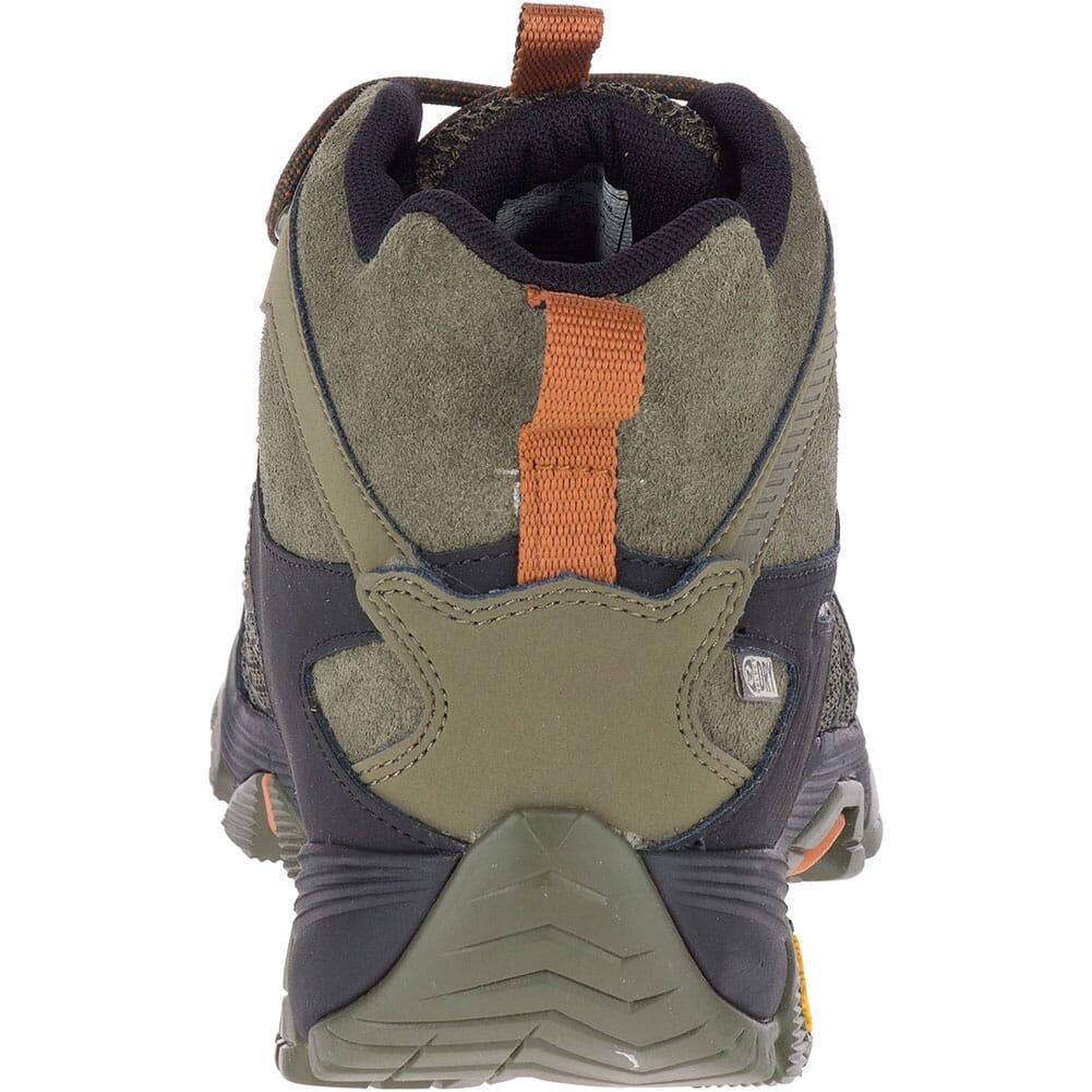 Merrell Men's Moab FST 2 Mid WP Hiking Boots - Olive/Adobe