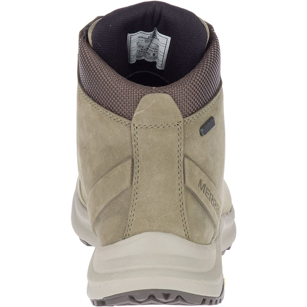 Merrell Men's Ontario Mid WP Hiking Boots - Olive