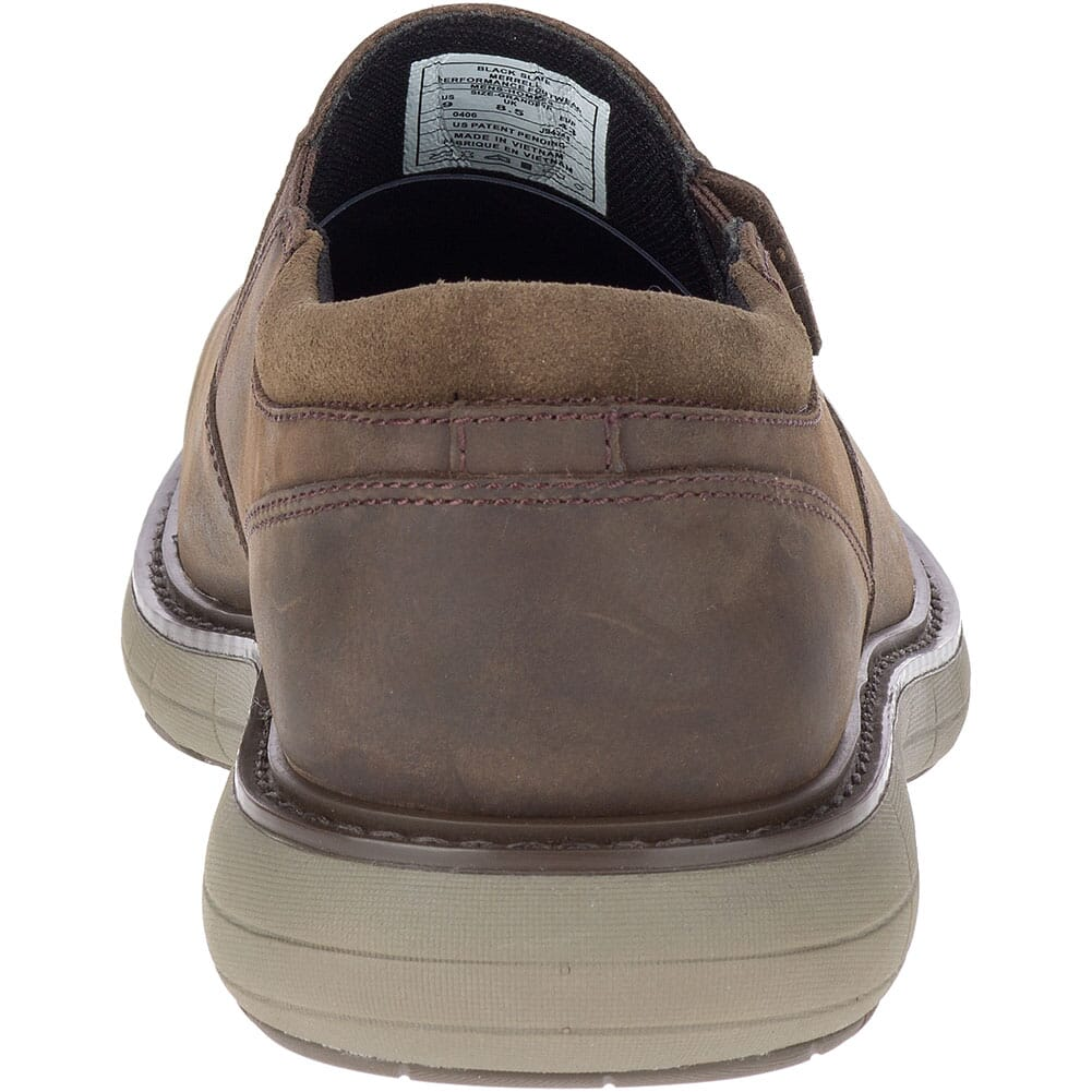Merrell Men's World Vue Moc Casual Shoes - Black Slate