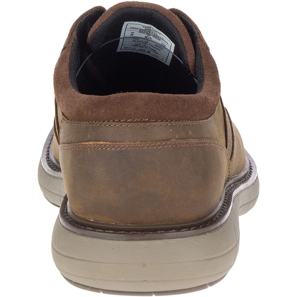 Merrell Men's World Vue Lace Casual Shoes - Dark Brown
