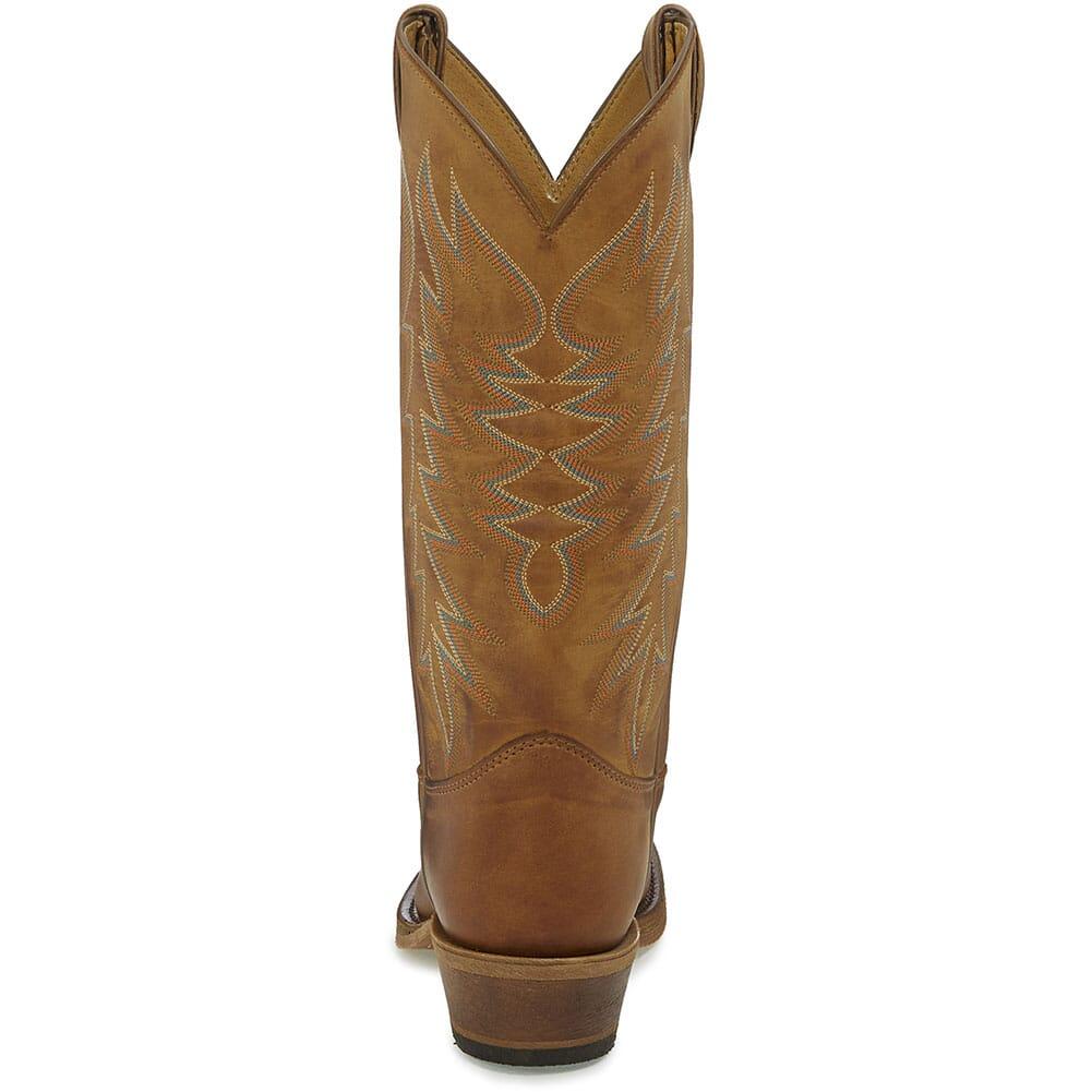 Justin Men's Keaton Western Boots - Cognac/Peanut Brittle