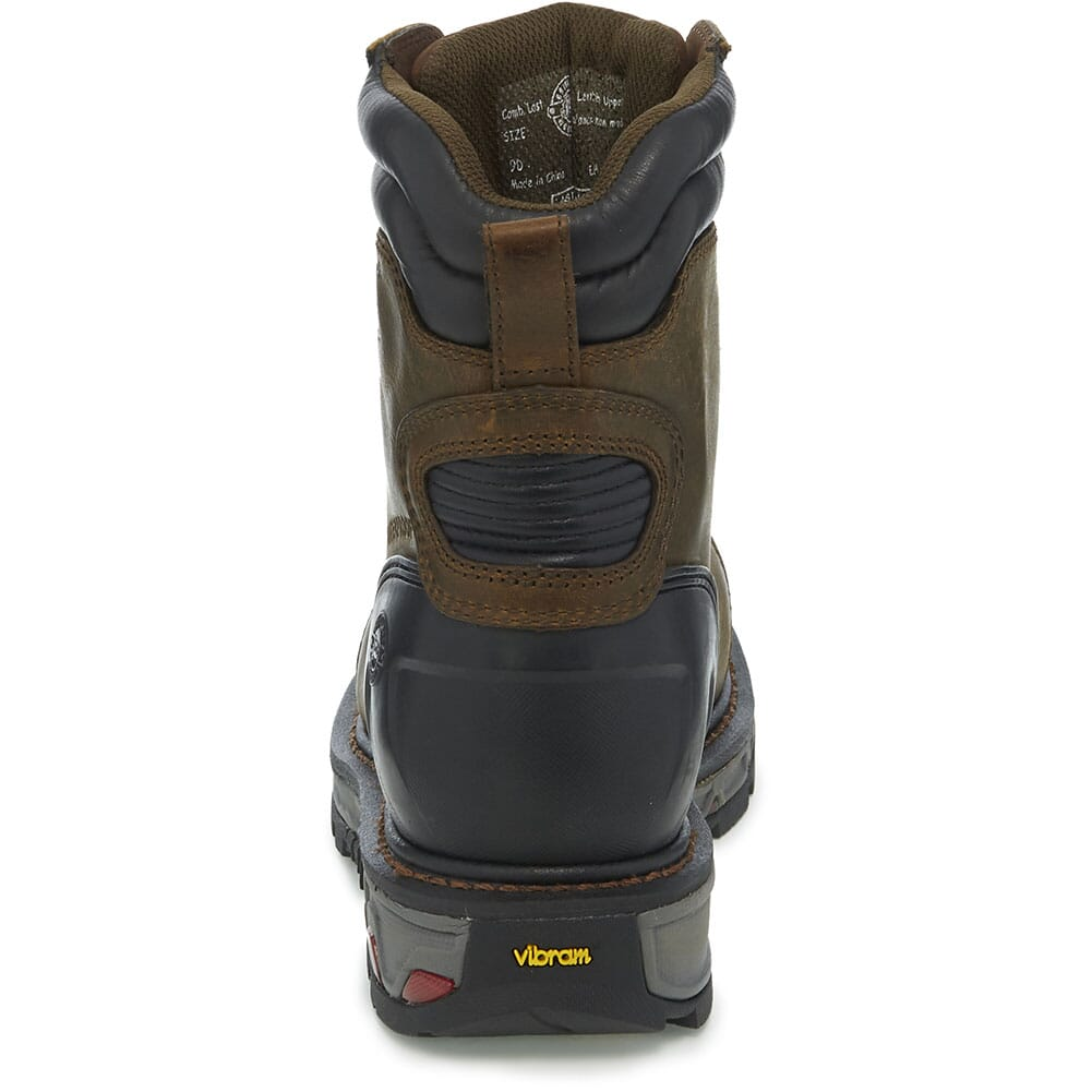 Justin Original Men's Warhawk WP Safety Boots - Mechanic Tan